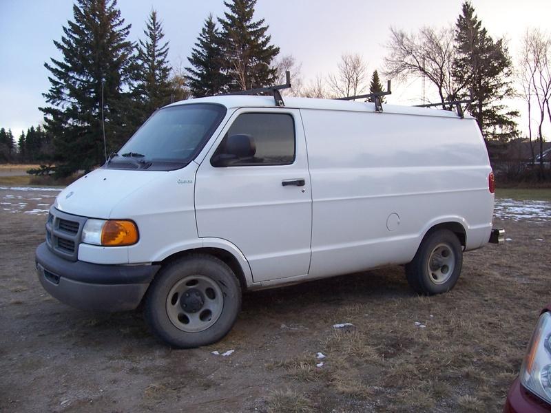 2003 Dodge Ram Cargo Van 1500 Short